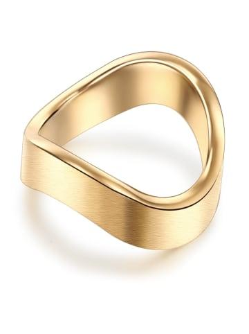 Stella Copenhagen Ring Edelstahl in Silber in gelbgold