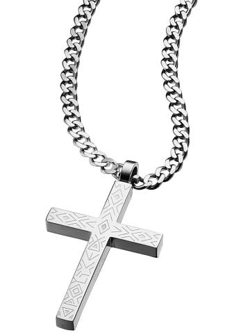 Police Sinner Herren-Halskette Silber