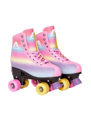 "Apollo Retro Rollschuhe "" Classic Roller - Disco "" in Dancing Queen - Rainbow"