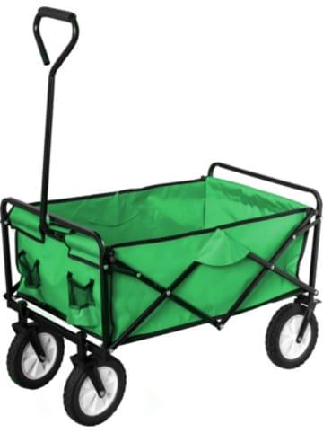 Happy People Bollerwagen, grün, faltbar