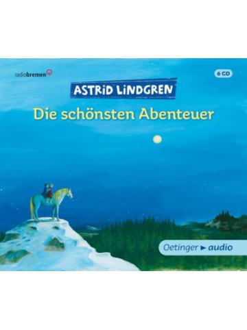 Verlagsgruppe Oetinger CD Astrid Lindgren - Die schönsten Abenteuer (6 CDs)