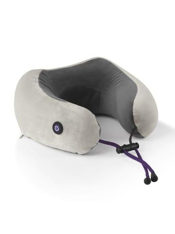 VITALmaxx Massage-Nackenkissen in Anthrazit/Grau