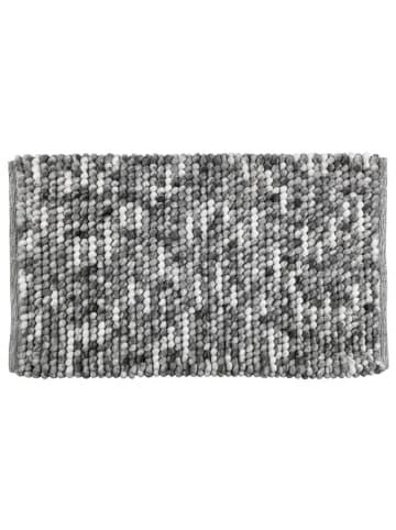 Wenko Badteppich Urdu Grau, 60 x 90 cm in Grau