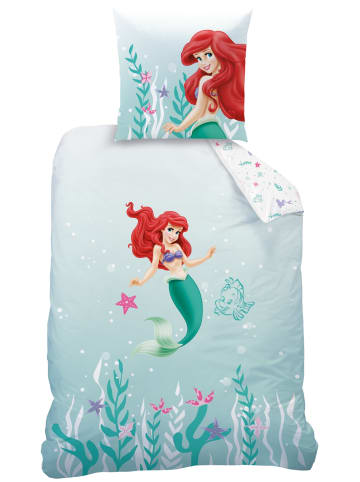 """Disney Princess Mädchen Bettwäsche-Set """"Arielle, die Meerjungfrau"""" in Bunt"""