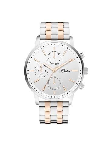S.Oliver Time Armbanduhr in bicolor