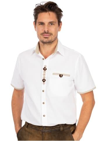 OS-Trachten Kurzarmhemd RETTENBACH weiß