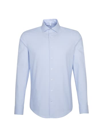 Seidensticker Oxfordhemd Slim in Hellblau