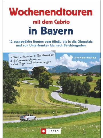 J. Berg Wochenendtouren mit dem Cabrio in Bayern