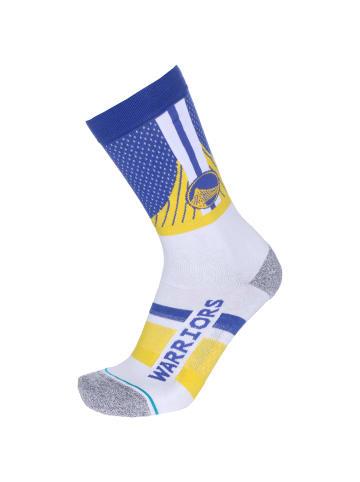 STANCE Strümpfe & Socken Warriors Shortcut 2 in blau / gelb
