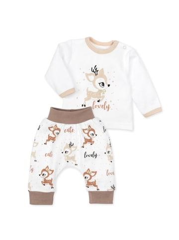 Baby Sweets 2tlg Set Shirt + Hose Lovely Deer in bunt