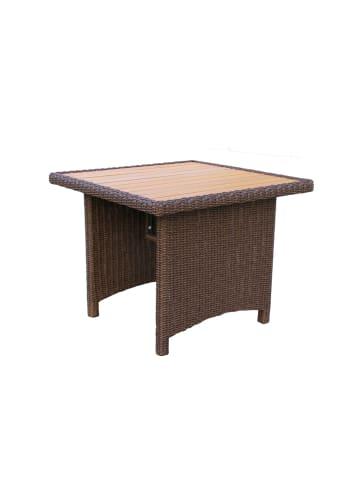 GRASEKAMP Qualität seit 1972 Tisch Ibiza in braun
