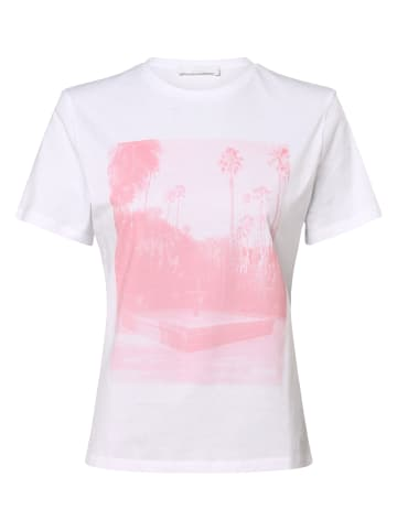 BOSS T-Shirt C_Eima1 in weiß
