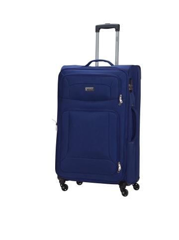 "PSNGR Koffer ""Barkley Spinner"" Größe L in Blau"