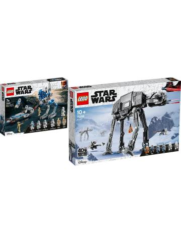 LEGO Star Wars™ 2er Set: 75280 Clone Troopers™ + 75288 AT-AT™
