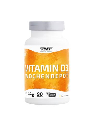TNT True Nutrition Technology Kapseln Vitamin D3 Wochendepot (90 Depotkapseln - 5600 i.E.) in bunt