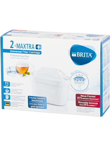 Brita 2er-Set Filterkartusche MAXTRA+