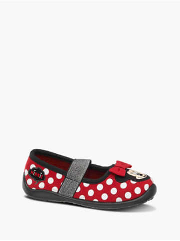 MINNIE MOUSE Hausschuh rot