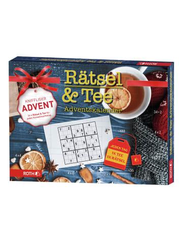 """ROTH Adventskalender """"Rätsel + Tee"""" mit Tee und Rätseln"""