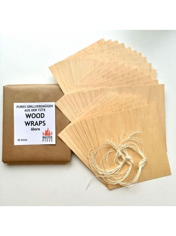 "Master Piece Masterpiece Wood Wraps ""Ahorn"" 30er Set"