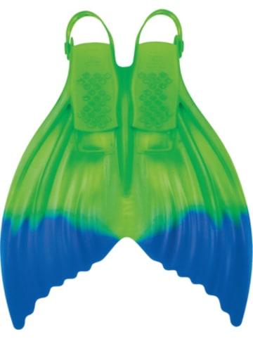 FINIS Meerjungfrauflosse Luna Enchanting Emerald, blau/grün