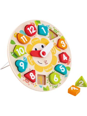 Hape Toys Steckpuzzle Uhr