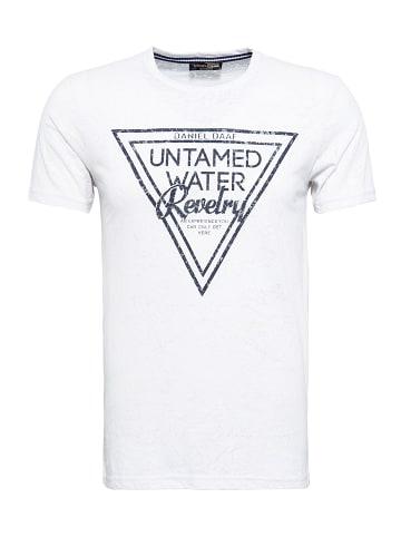 Daniel Daaf Daniel Daaf Daniel Daaf T-Shirt mit modischer Burnout-Optik in white