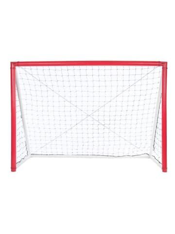 "Gorilla Aufblasbares Fußball-Tor ""iGoal"" in rot - 240 x 170 cm"
