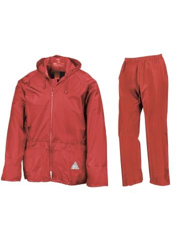 Result Regenanzug 2-teilig in RED