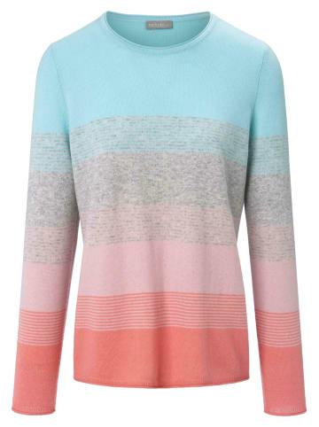 Include Pullover aus Kaschmir in aqua/multicolor