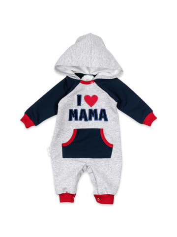 Baby Sweets Overall I love Mama & Papa in bunt
