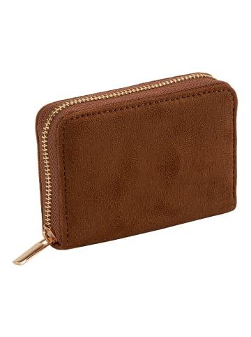 Six Portemonnaie in braun