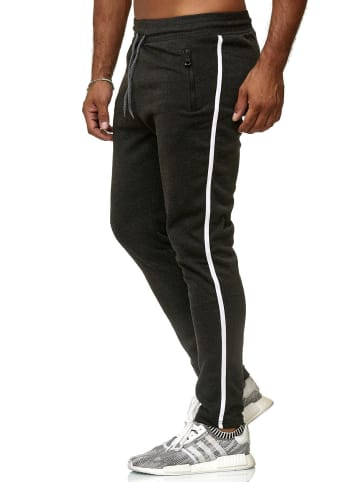 Arizona-Shopping Jogging Hose LE-HOME Sweat Pants Hose Sporthose H2509 in Dunkelgrau