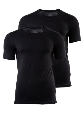 TOP GUN T-Shirt 2er Pack in Schwarz