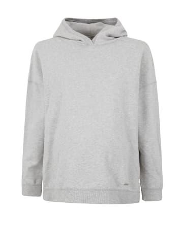 Bellybutton Umstandssweatshirt Hoodie in aksaz gray melange