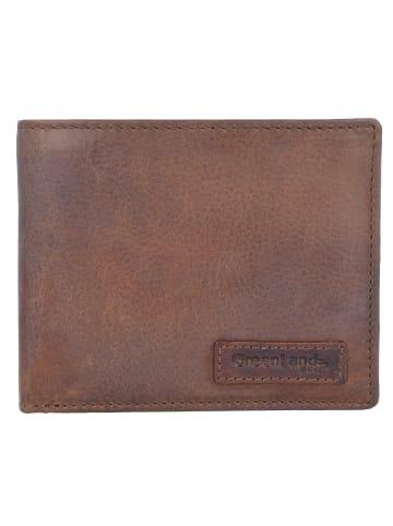 Greenland Soft & Safe Geldbörse RFID Leder 12 cm in braun