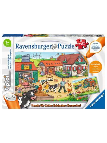Tiptoi tiptoi® Puzzle für kleine Entdecker: Bauernhof 2x12 Teile
