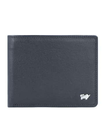 Braun Büffel Golf Edition Geldbörse Leder 11 cm in schwarz
