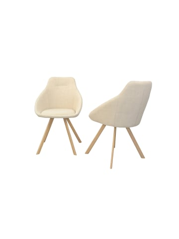 Möbel-direkt Stuhl (2Stück) Charlotte in beige