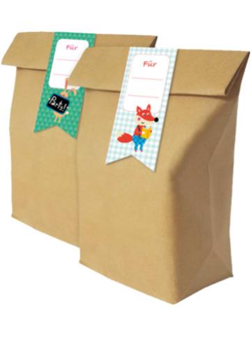 Grätz Verlag Mitgebseltüten für Kinderpartys, 12 Stück