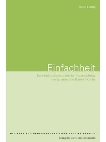 Königshausen & Neumann Einfachheit | Eine kulturphilosophische Untersuchung der japanischen...