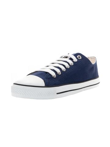 Ethletic Sneaker Lo Fair Trainer White Cap Lo Cut in ocean blue   just white