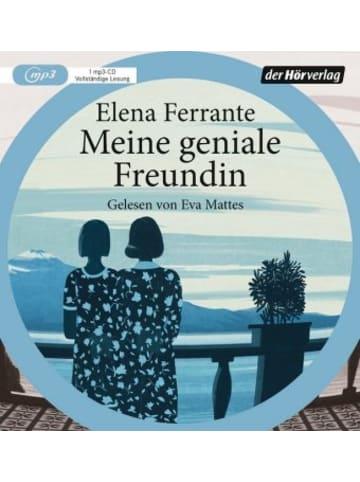 Der Hörverlag Meine geniale Freundin, 1 Audio-CD, MP3