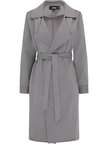 Usha BLACK LABEL Leichter Mantel in Grau
