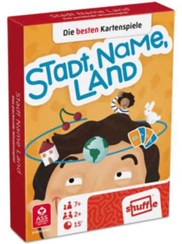 ASS Altenburger Spielkarten Familienspiele - Stadt, Name, Land