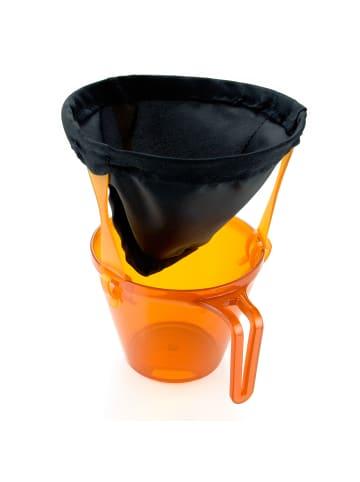 GSI Outdoors Kaffeefilter #4 Java Drip Ultralight in schwarz/orange
