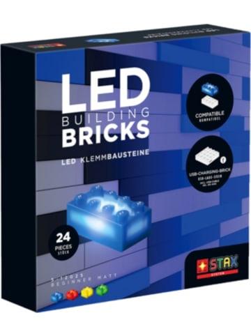 STAX System LED-Klemmbausteine - Beginner Matt, 24 Teile - LEGO®-kompatibel