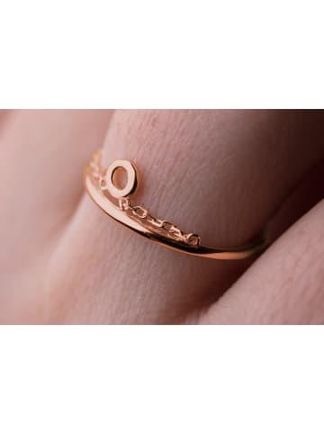 "Possum Ring ""Pure circle"" 925 Sterling silber rosevergoldet"