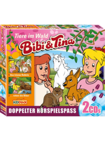 KIDDINX CD Bibi & Tina - Tiere im Wald (2er Box)
