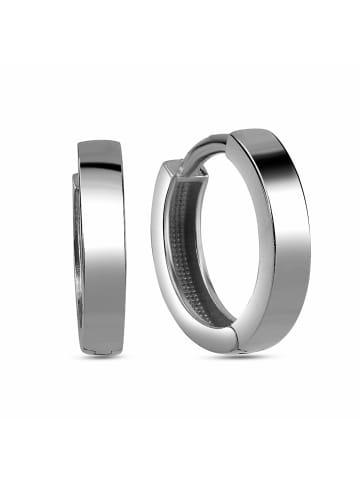 Dkeniz Creolen 925/- Sterling Silber in weiß