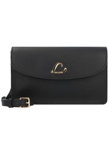 Lancaster City Philos Umhängetasche Leder 20 cm in noir